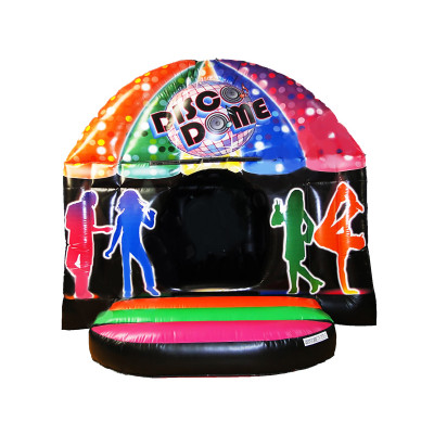 Disco Club Bouncy Castle