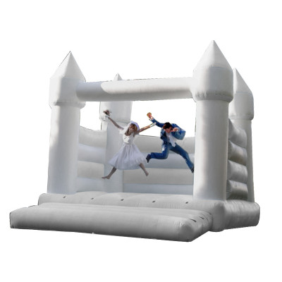White Bouncy Castle