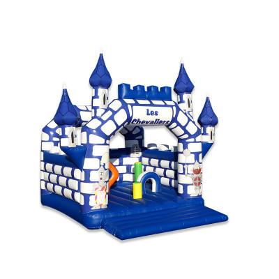 Inflatable Castle With Obstacles