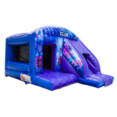 Disco Dome Bouncy Castle With Slide