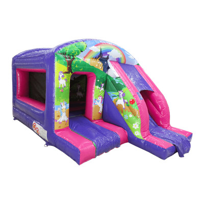 Unicorn Box Jump And Slide