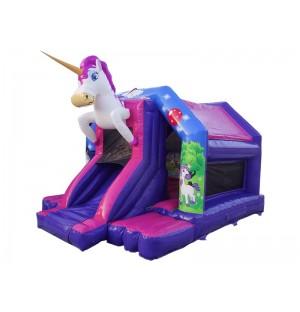 Unicorn Front Slide Bouncer