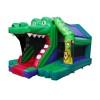 Croco Front Slide Bouncy Castle