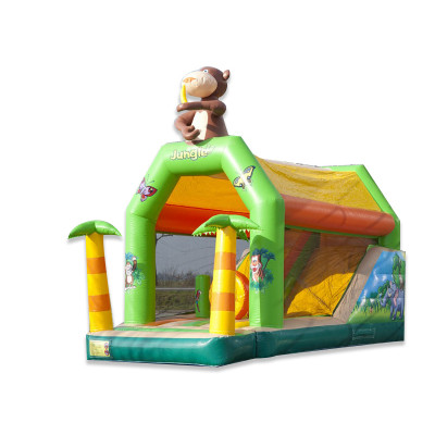Jungle Bouncy Castle Combo