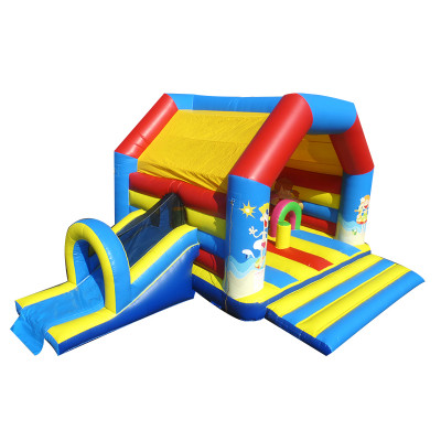 Beach Bouncy Castle Slide