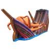 Inflatable Kraken Slide