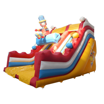 Clown Slide With 3d Figure