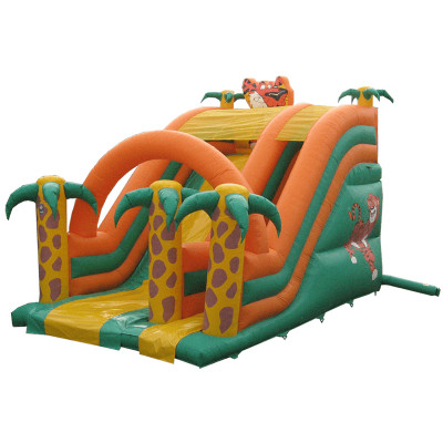 Tiger Inflatable Slide