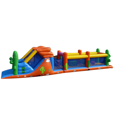 Inflatable Long Adventure Course