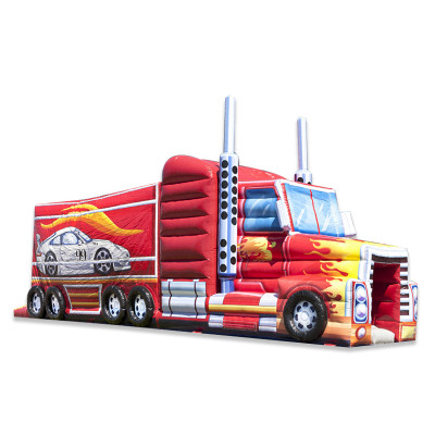 Truck Inflatable Obstcle Course