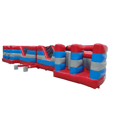 2 Part Curved Obstacle Course