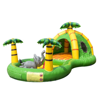 Jungle Playzone Toddler Bouncy Castle
