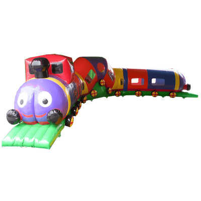 Activity Train Inflatable Tunnel