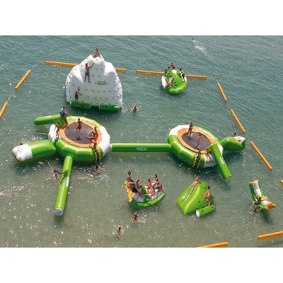 Trampoline Water Park