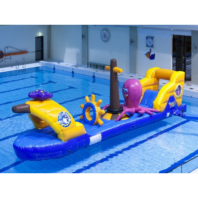 Water Obstacle Courses For Commercial Pools