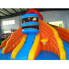 Inflatable Paddling Pool With Slide